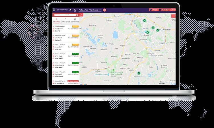 Driver Tracking | Instadispatch Courier Management Software