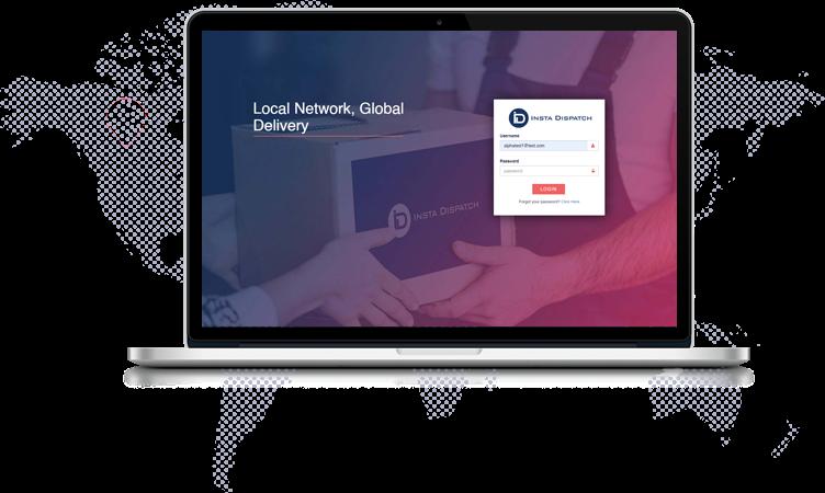 CUSTOMER BOOKING PORTAL | Instadispatch Delivery Management Software